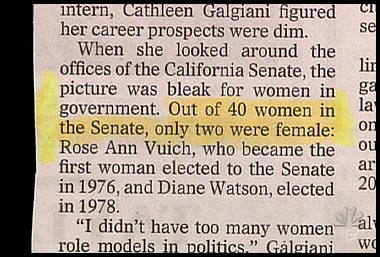 40 CA Senate Women