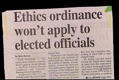 Ethics in DC