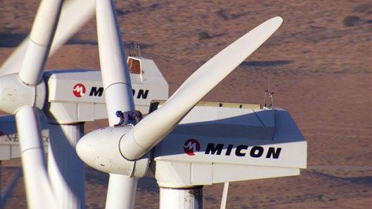 Home-Yann-Arthus-Bertrand wind turbine Tehachapi CA