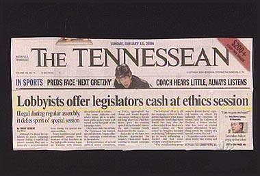 Lobbyists Cash Ethics