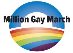 million gay march