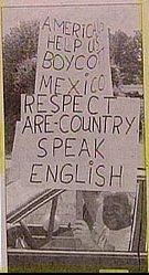 stupid xenophobe