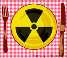 food radioactivity